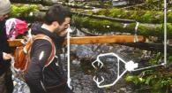 taking measurements in a stream